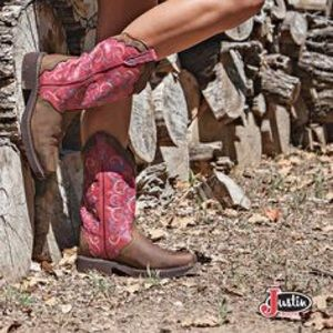 Justin Gypsy Bohemian leather cowboy boots